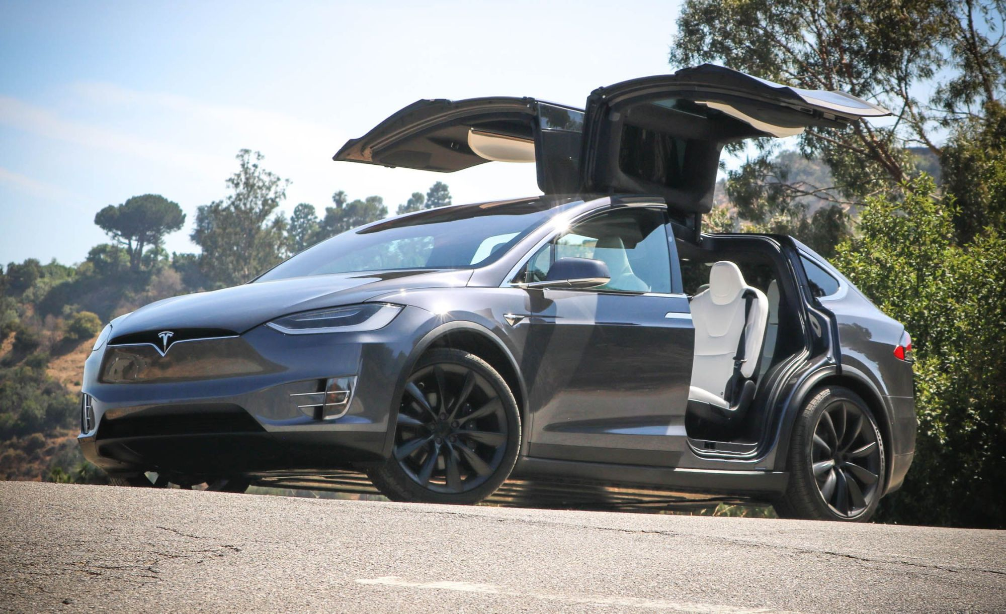 hight resolution of tesla model x reviews tesla model x price photos and specs car and driver