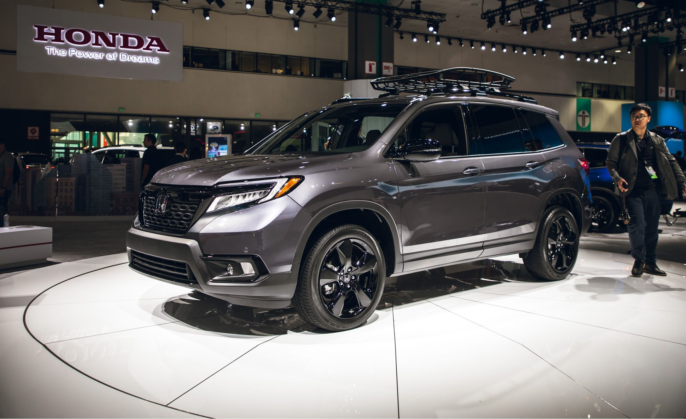 2019 Honda Passport All New Two Row Mid Size Crossover