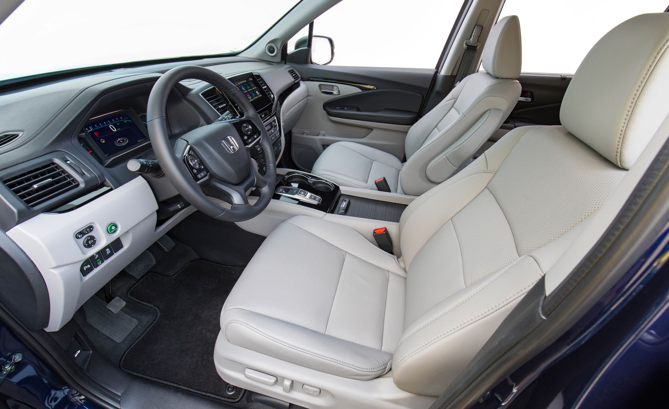 honda pilot captains chairs bucket dining room 2019 reviews price photos and specs car driver