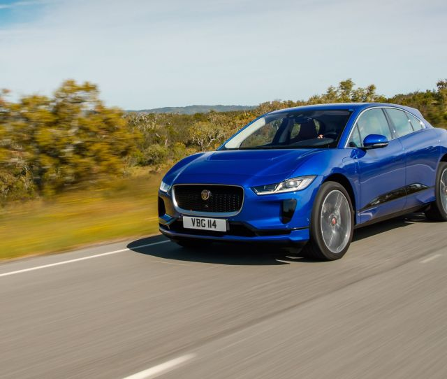 Jaguar I Pace The Electric Cat Leaps