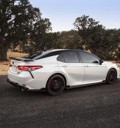 vwvortex com 2020 toyota camry trd has red seatbelts and the chassis mods to back them up claims track ready [ 3600 x 2400 Pixel ]