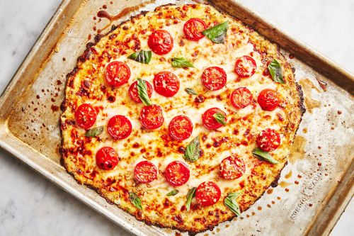 est Cauliflower Pizza Crust Recipe - How to Make Cauliflower Pizza Crust