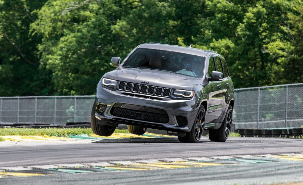 medium resolution of jeep grand cherokee trackhawk reviews jeep grand cherokee trackhawk price photos and specs car and driver