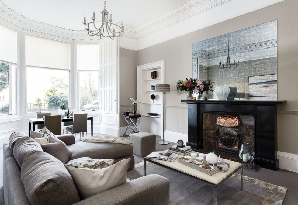 Elegant Light Filled Victorian Apartment In Edinburgh Is Perfect For City Life
