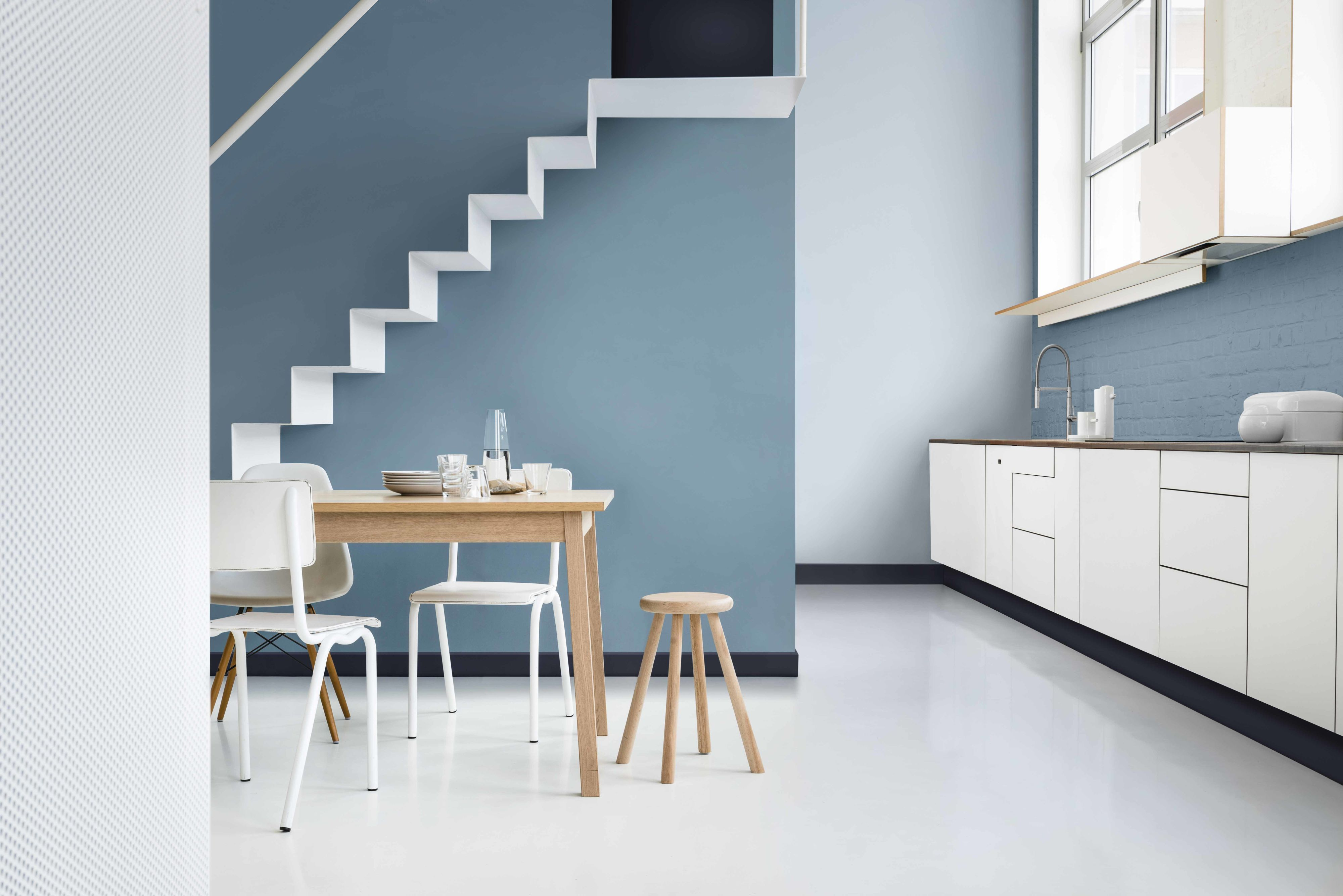 dulux grey colour schemes for living rooms great colors room paint denim drift named as s 2017 of the year family tonal palette blue hues