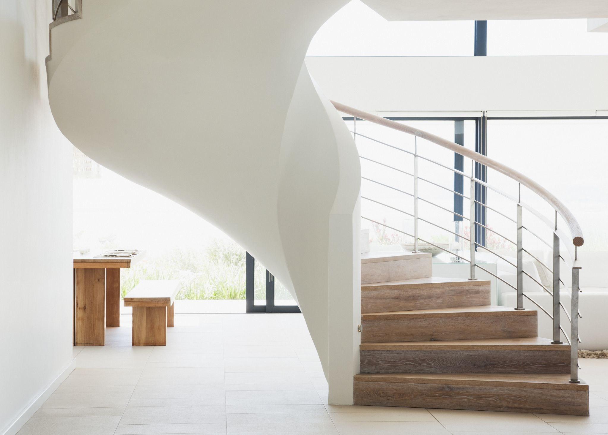 Interior Staircase Design Ideas Repairing Replacing Or Repositioning | Stair Design For Seniors | World's | Contemporary | Steel | Unique | Indoor