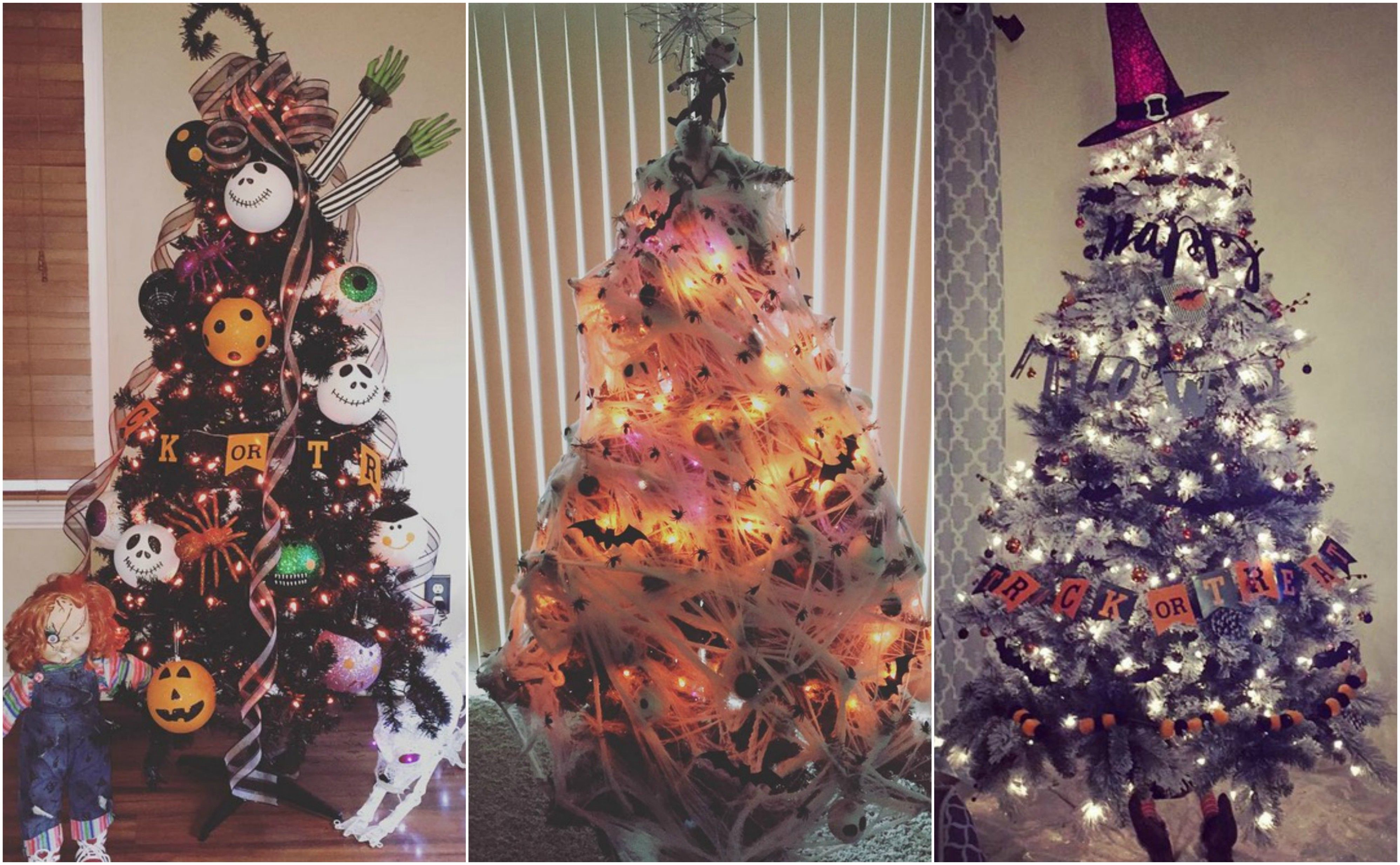 Halloween Christmas Tree Ideas