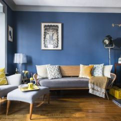 Retro Living Room Black Grey And Cream Ideas This Style Is The Perfect Retreat For Book Lovers