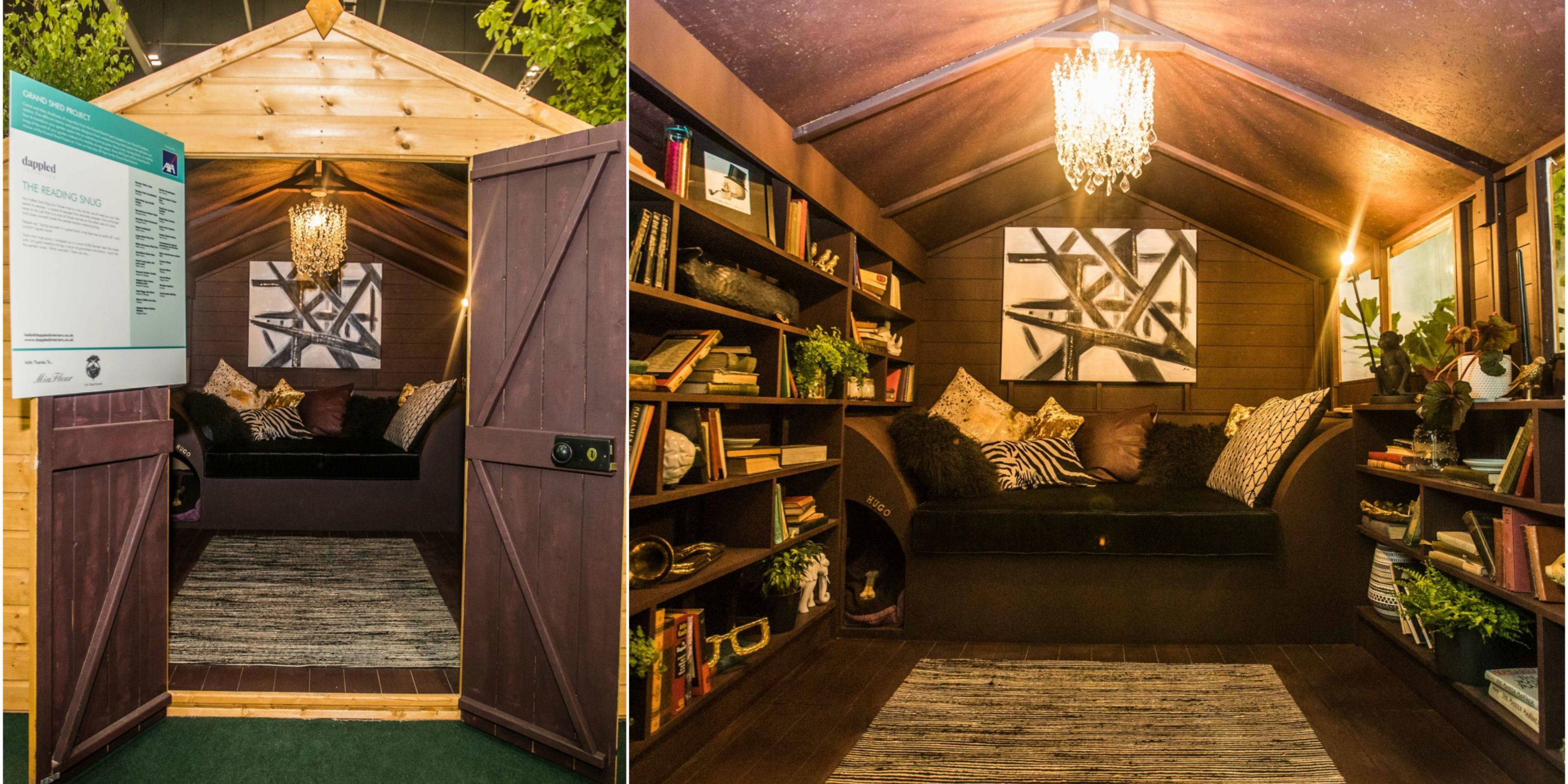 Cosy And Luxurious Reading Snug By Dappled Interiors Wins