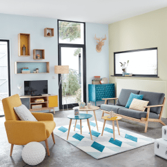 House Of Turquoise Living Room Grey Paint Colors The 5 Best Colours For A Happy Home According To An Interiors Expert Maisons Du Monde