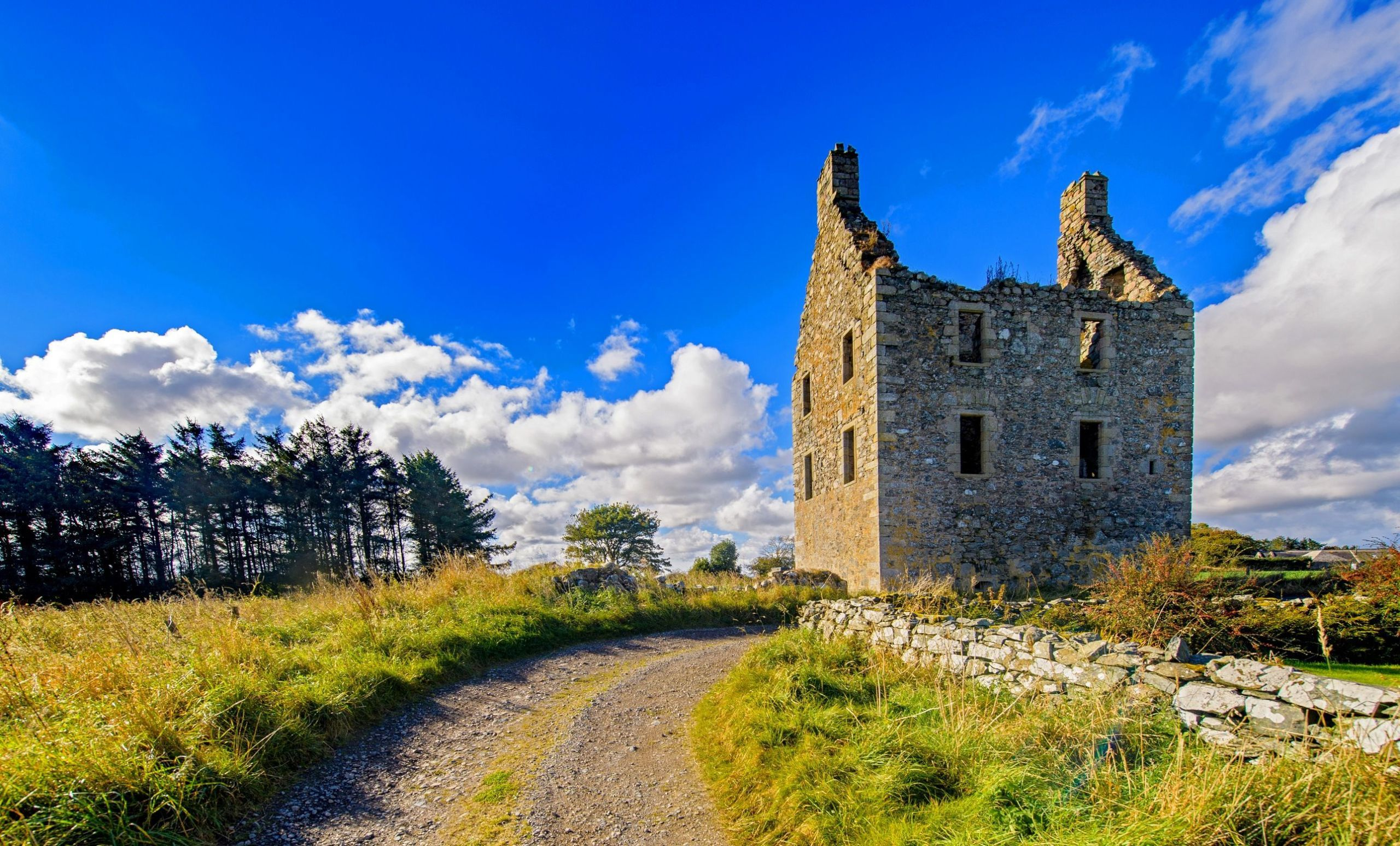Knockhall Castle In Scotland Is On Sale For 130000 But