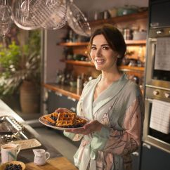 Copper Kitchen Aid Swan Sinks Nigella Lawson's Bbc Series At My Table Is Filmed In A ...