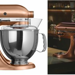 Copper Kitchen Aid Desing Where To Buy Nigella Lawson S Kitchenaid Stand Mixer Isn T The Only Appliance We Re Lusting After