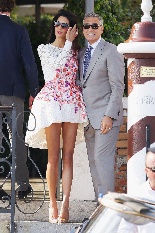 Amal Clooney Short Skirt Essay  Why to Admire Amal Clooneys Fashion