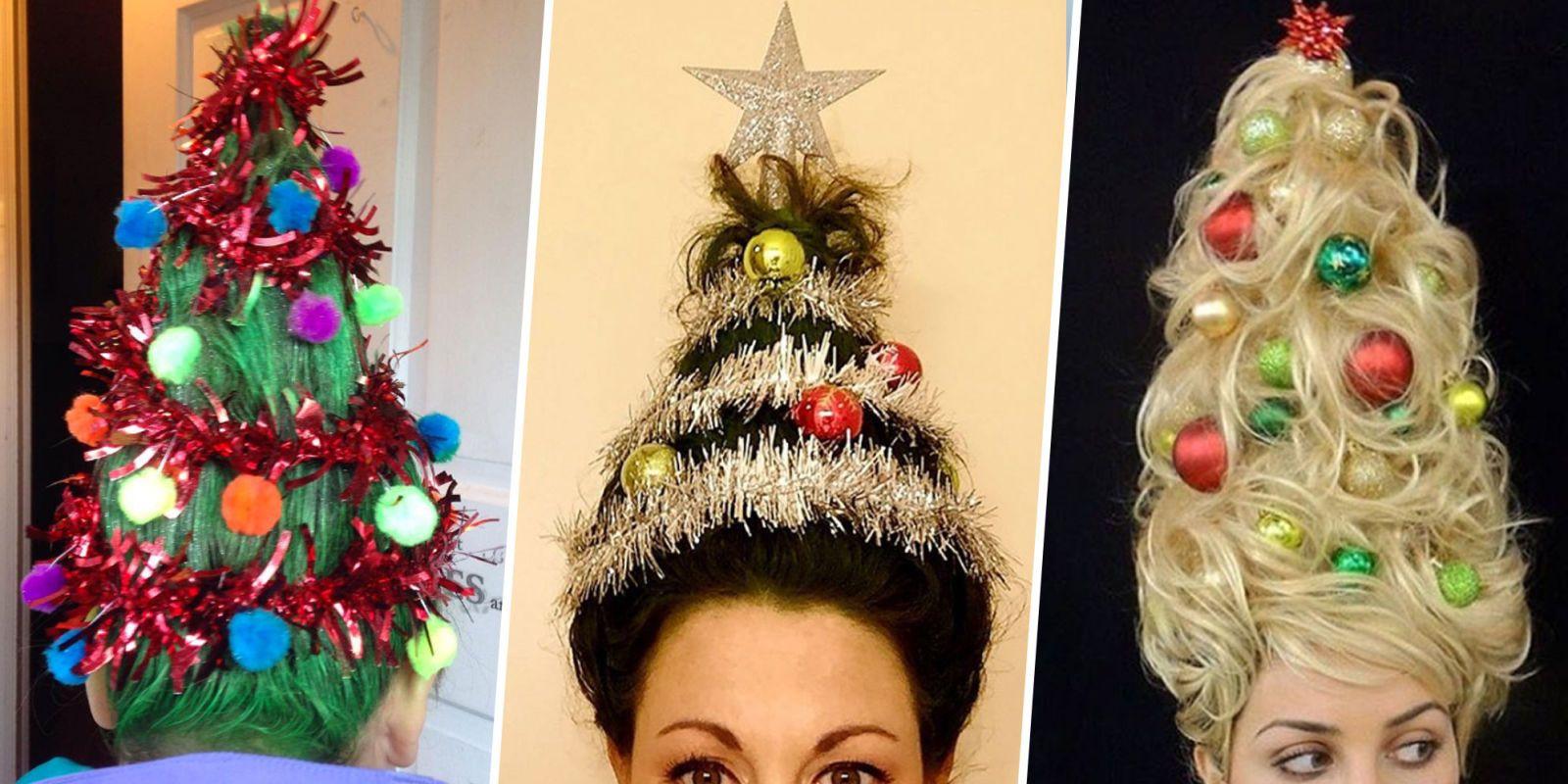 christmas-tree hair trend