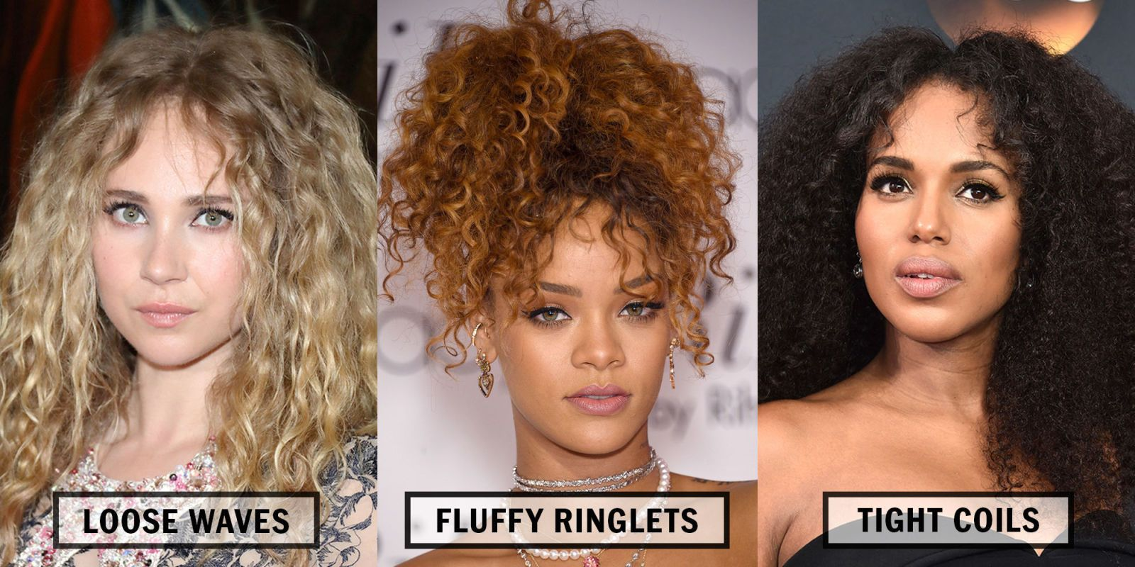 celebrity curly hair types