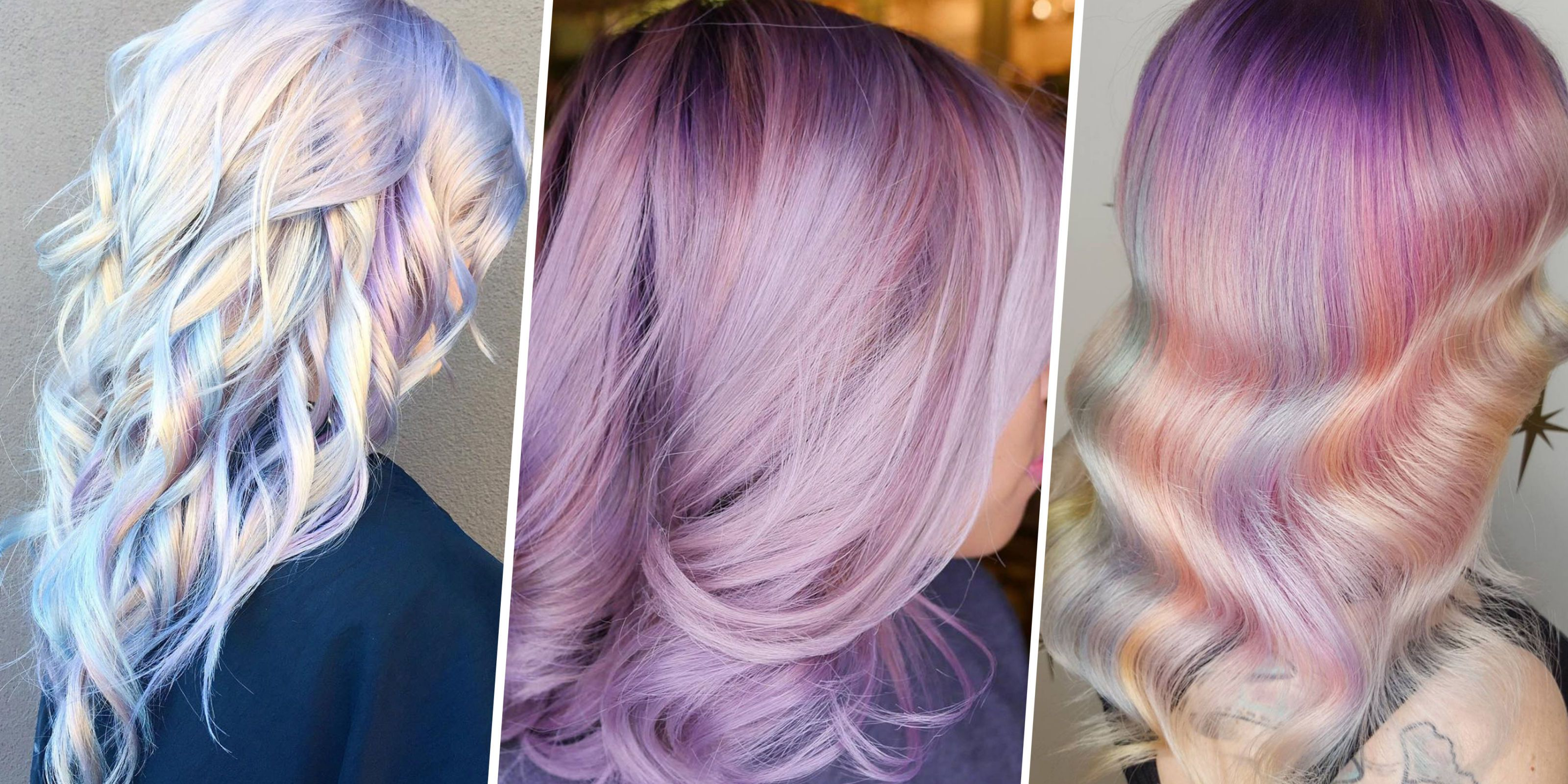 Holographic Hair Cool Dye Job 2017