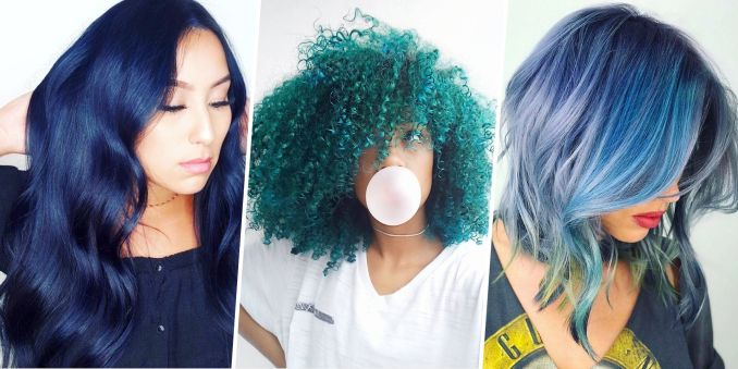 15 best blue hairstyle ideas - pretty and cool blue hair