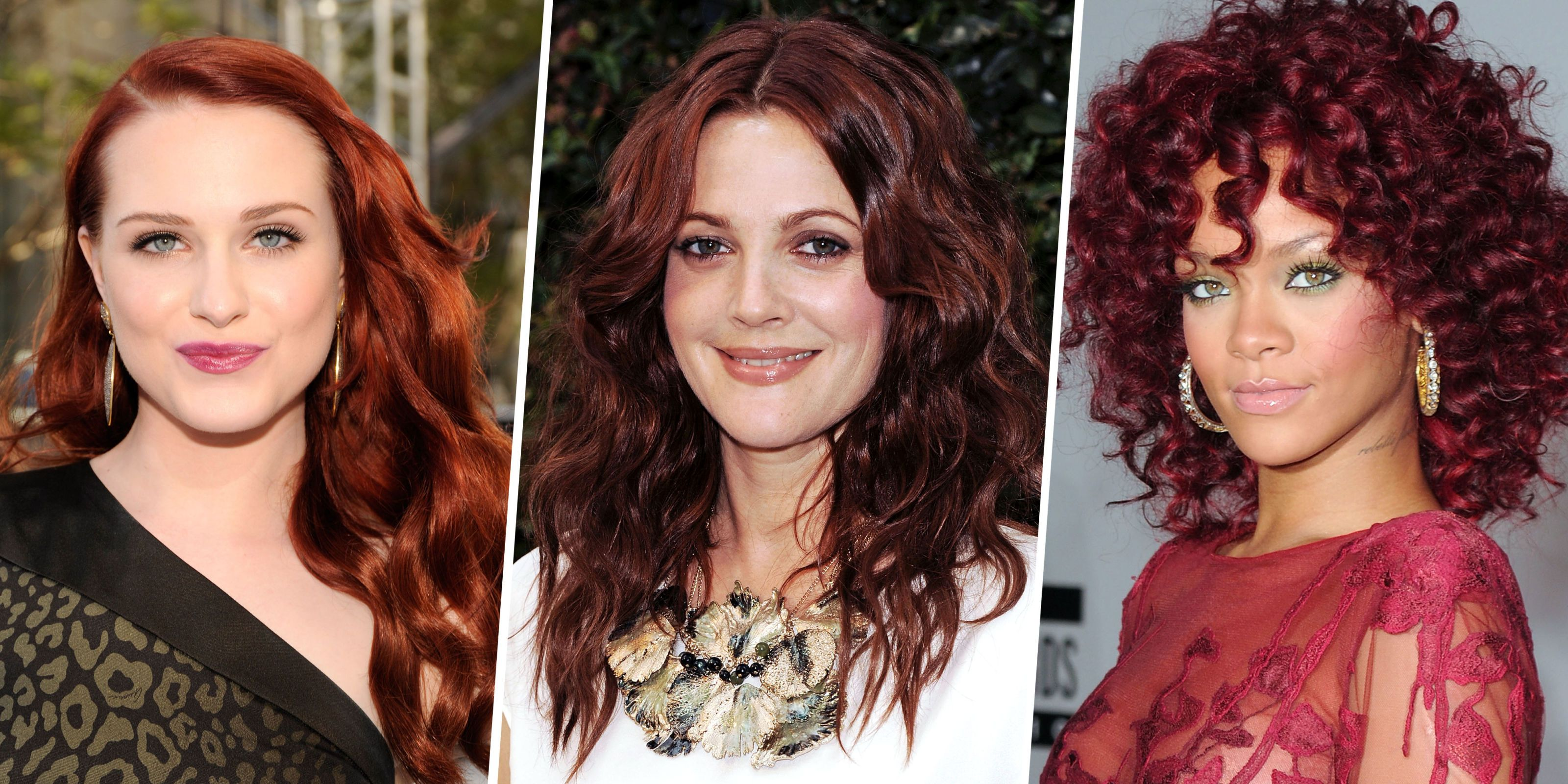 Dark Red Hair Colors Pretty Red Hair Color Ideas