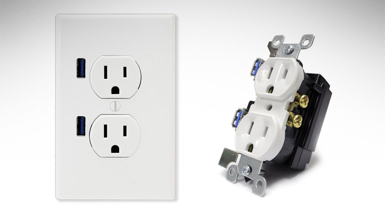 hight resolution of wiring a double receptacle outlet