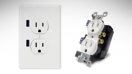 small resolution of wiring a double receptacle outlet