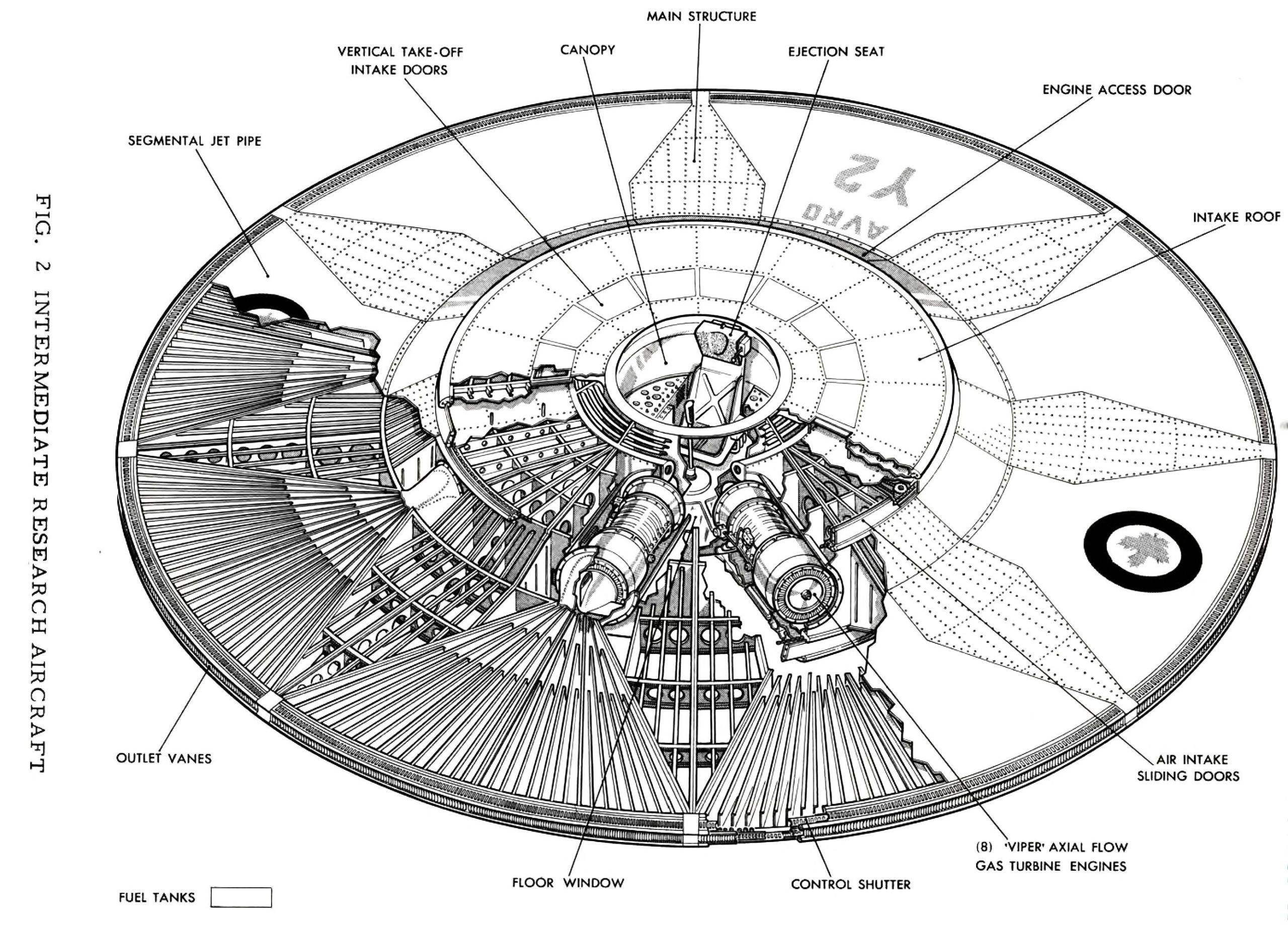 small resolution of declassified america s secret flying saucer ufo engine diagram