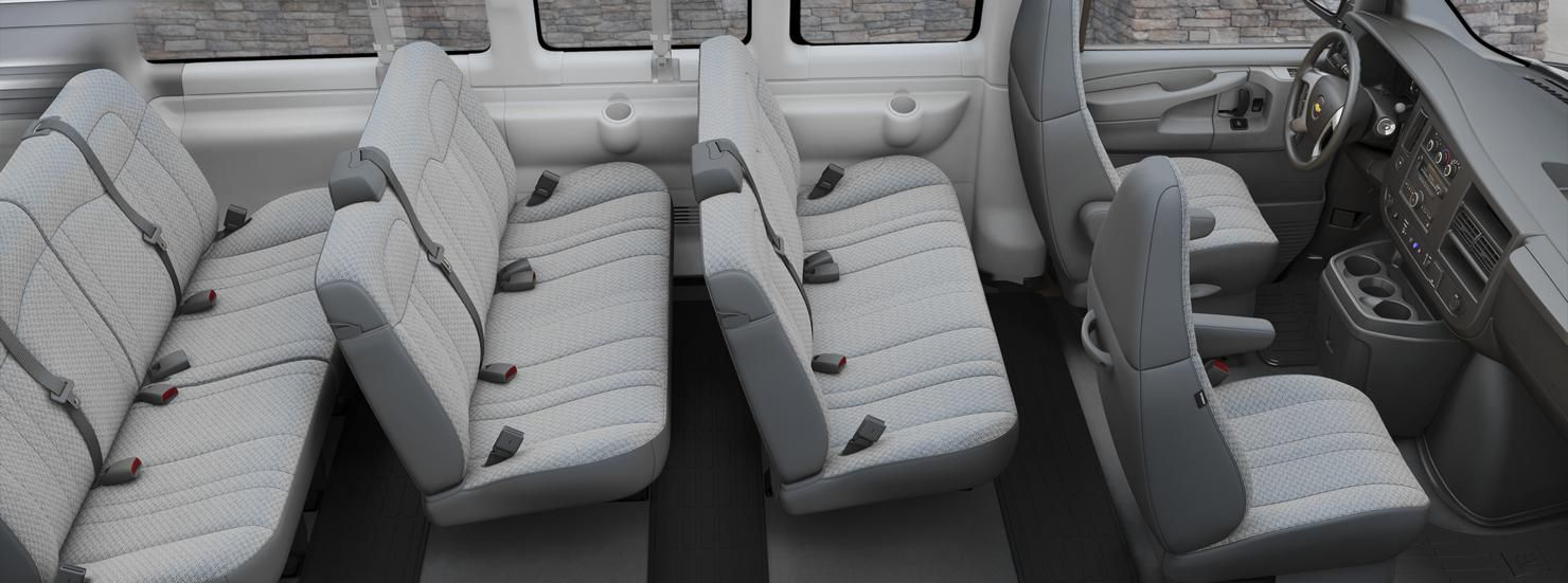 hight resolution of passenger van chevy expres g2500