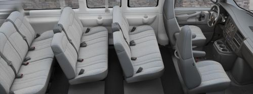 small resolution of passenger van chevy expres g2500