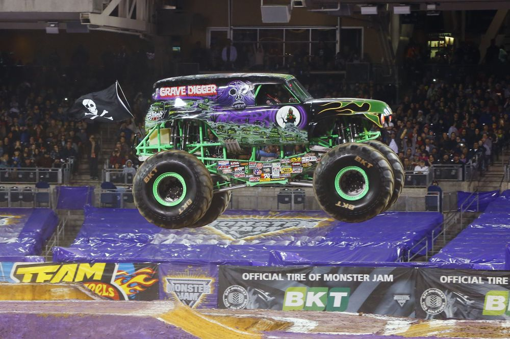 medium resolution of an inside look at grave digger the ultimate monster jam truck