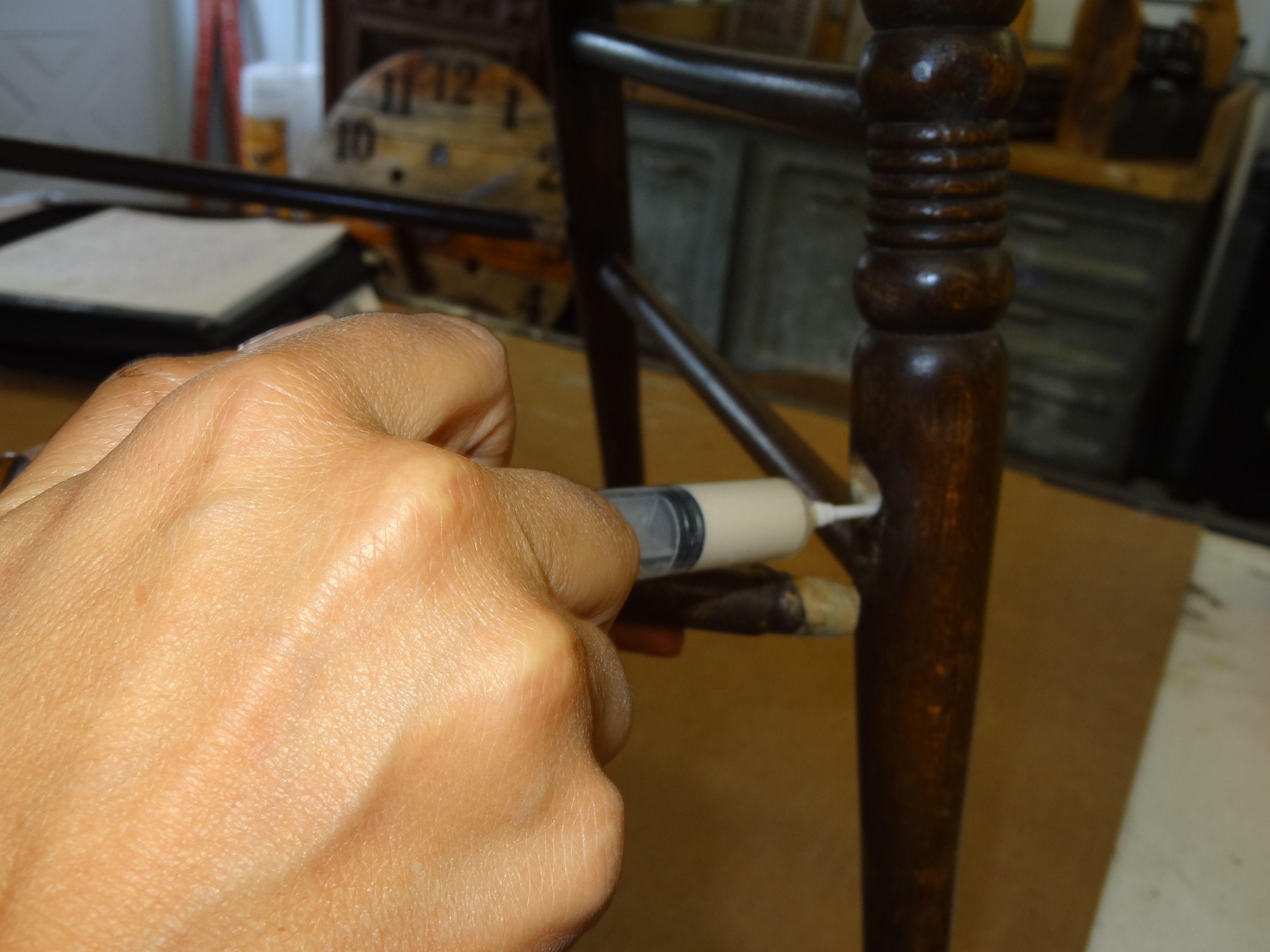 fixing wooden chairs how to install chair rail 10 furniture problems you can fix yourself p after years of being pushed and pulled from the dinner table