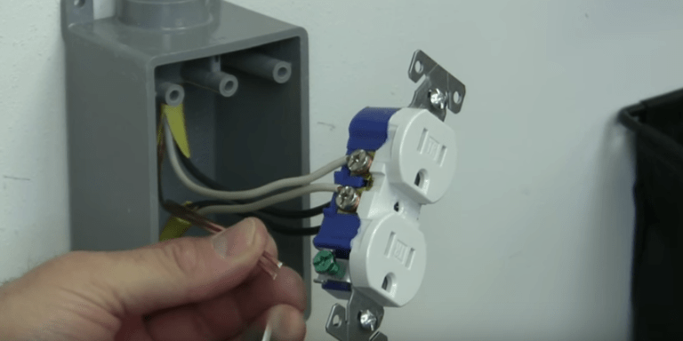 Basic Wiring Electrical Outlet