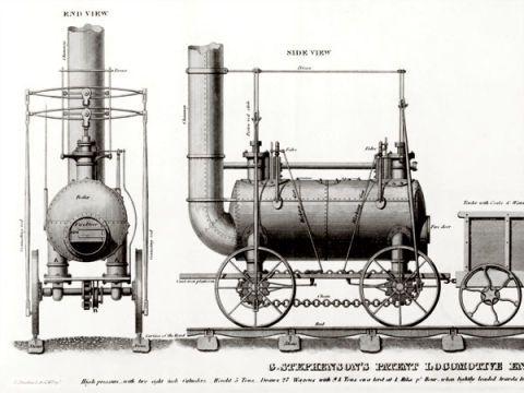 The First Steam Engine