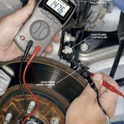 Brake Light Wiring Diagram 2004 Chevy Silverado Marine Power 5 7 Anti-lock Brakes - Abs Troubleshooting How To Troubleshoot Anti Lock Problems