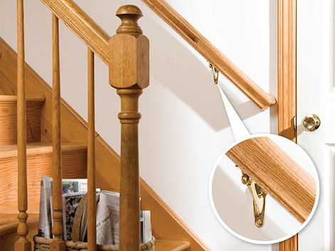 How To Install A Stair Handrail Diy Home | Diy Wood Stair Railing | Diy Unique | Cable | Cast Iron Pipe | Wood Frame | Easy