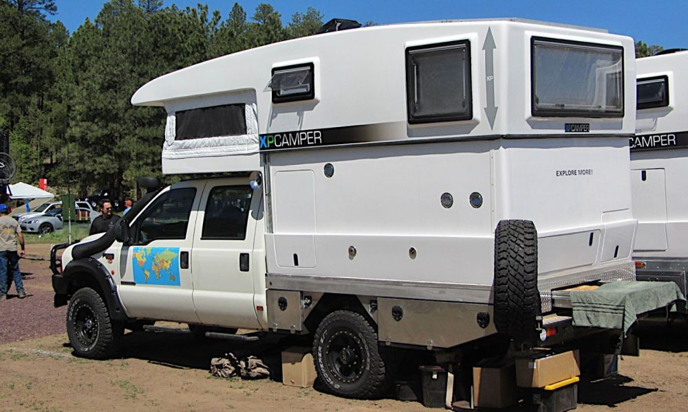medium resolution of box van camping idea