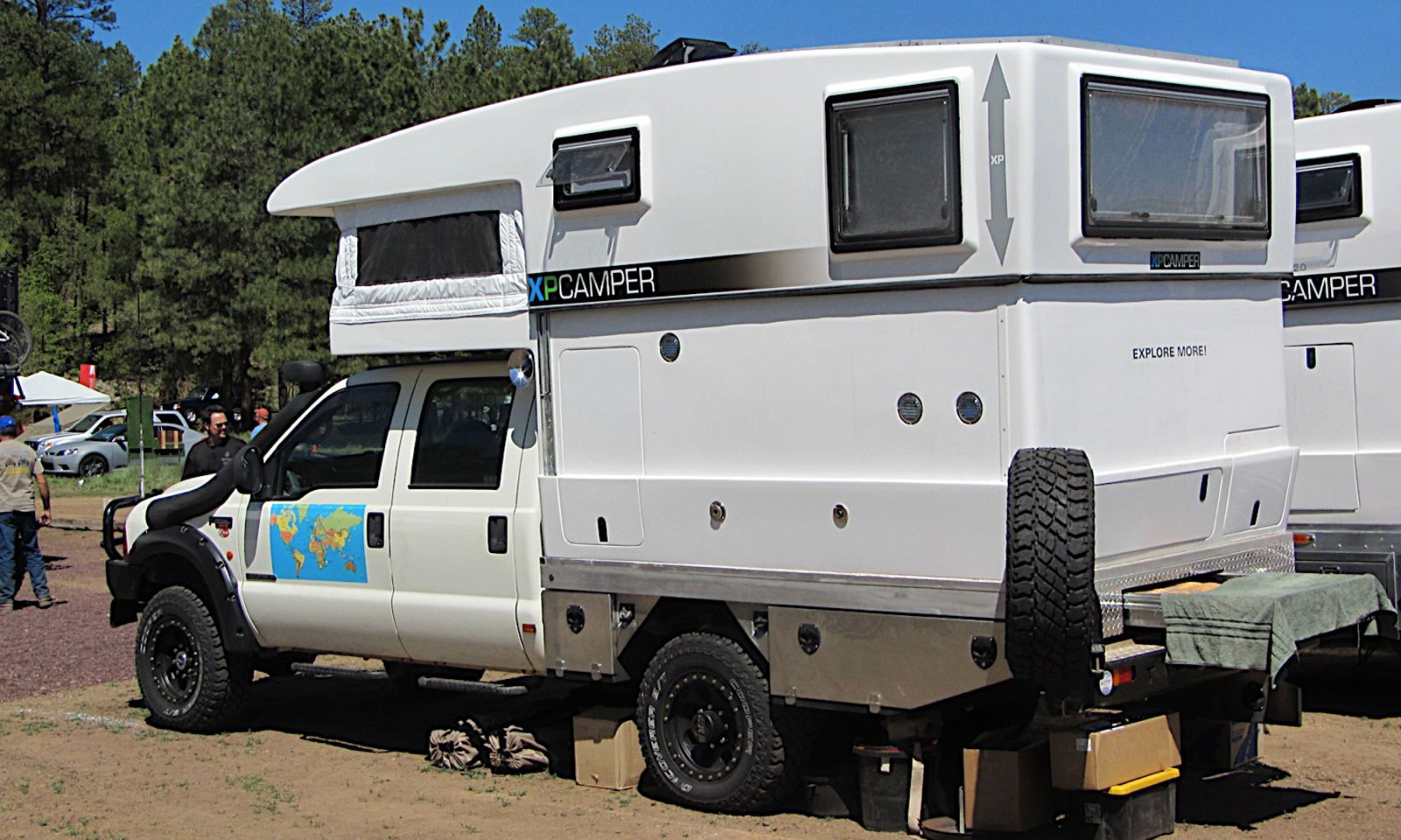 hight resolution of box van camping idea