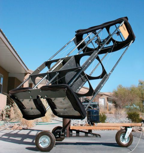 the binocular telescope diy