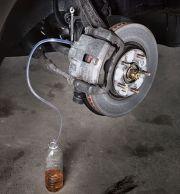 Image result for bleeding brakes