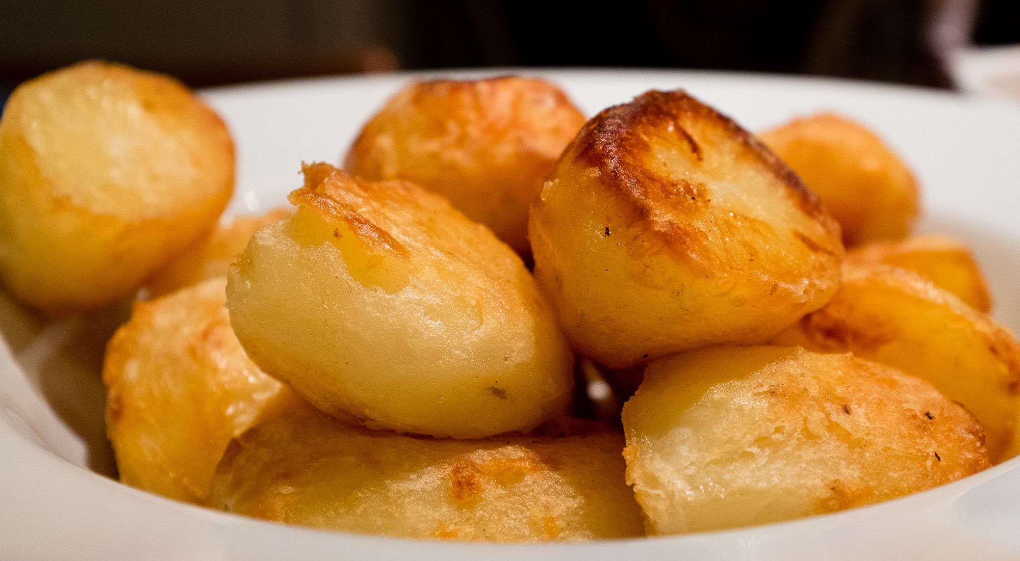 cook roast potatoes in the microwave