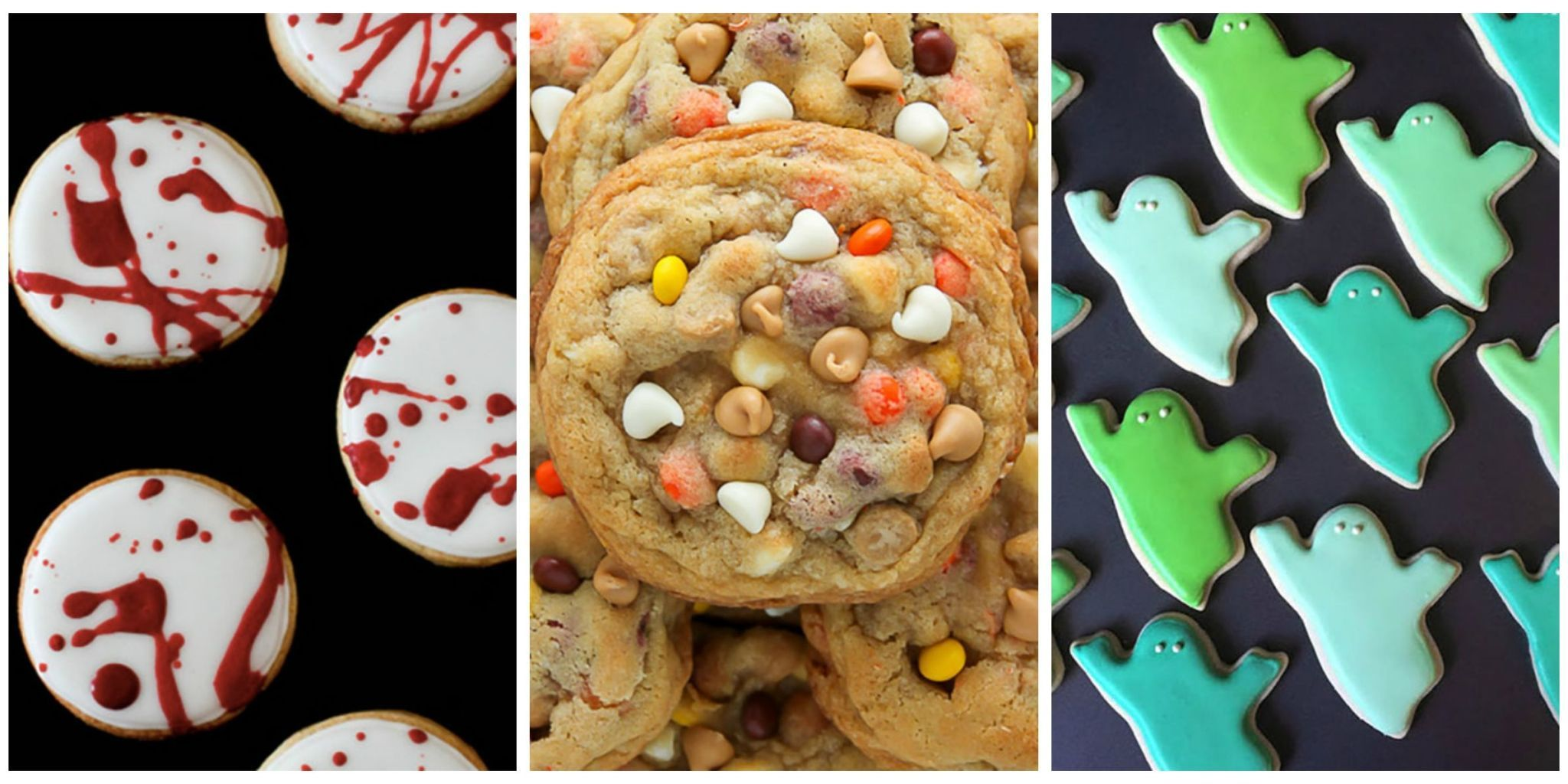 Candy shouldnt have all the … 24 Best Halloween Cookie Recipes Spooky Halloween Cookie Ideas