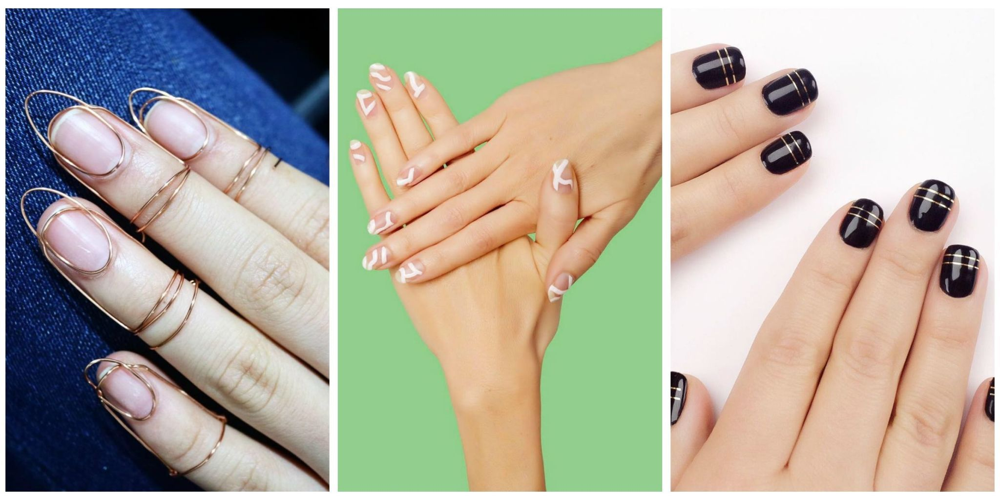Don T Be Afraid To Step Out Of Your Nail Design Fort Zone Manicures Are Only Temporary After All