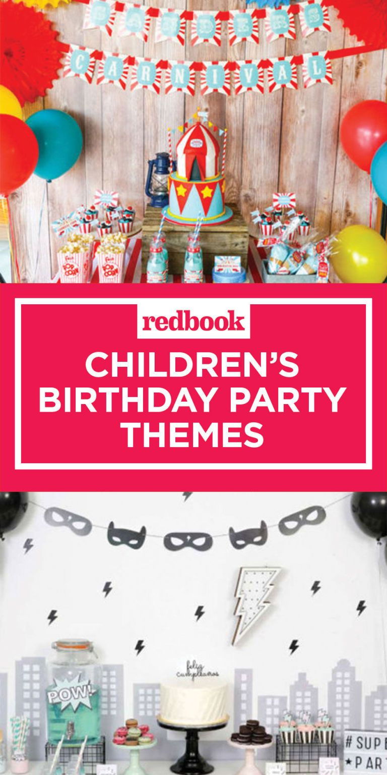 12 Best Kids Birthday Party Ideas  Unique Childrens Birthday Party Themes
