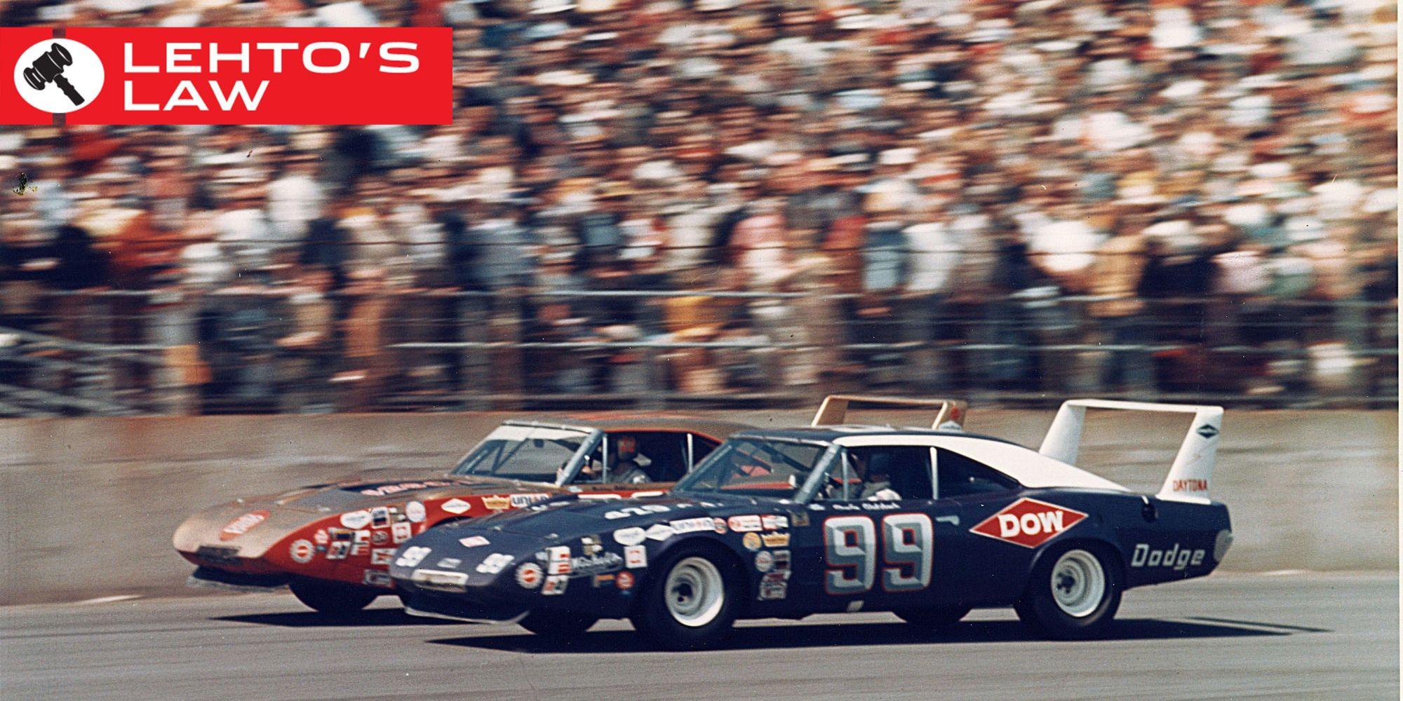 hight resolution of why the charger and superbird had that huge wing awesome vintage race cars