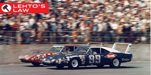 small resolution of why the charger and superbird had that huge wing awesome vintage race cars