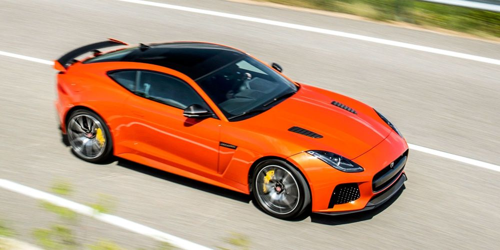 medium resolution of the 2017 jaguar f type svr is more raucous and more refined than the f type r