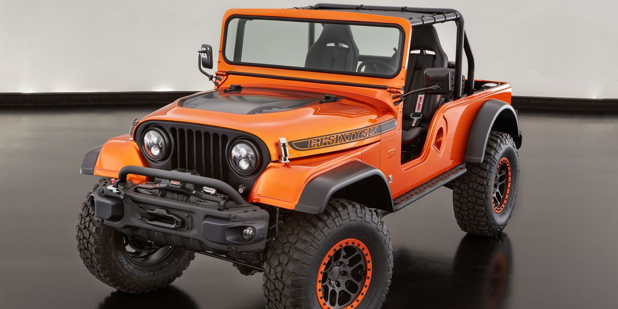 hight resolution of jeep cj7 orange