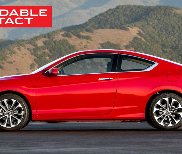Accord V6 Coupe The Last Real American Muscle Car