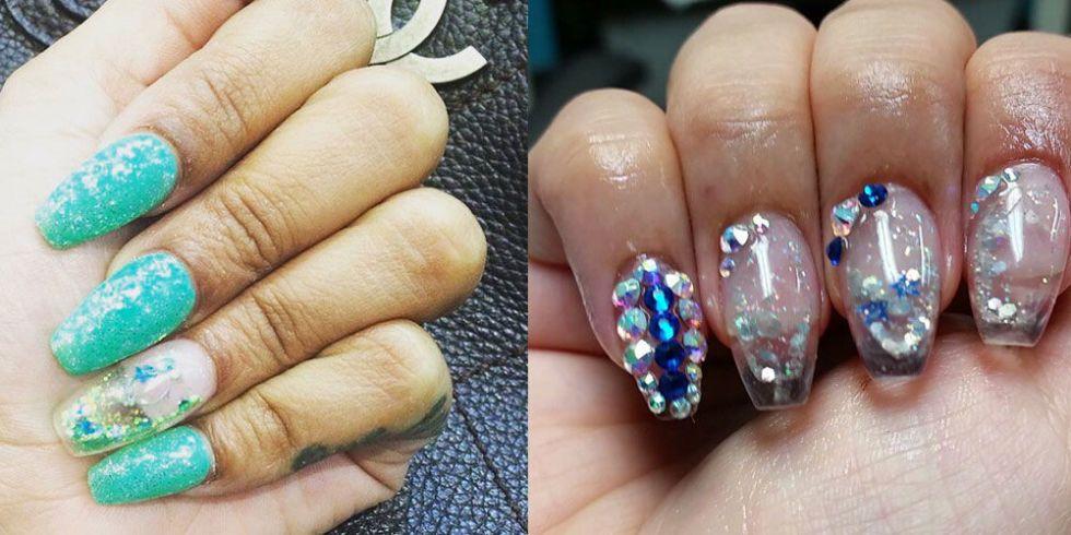 aquarium nails crazy