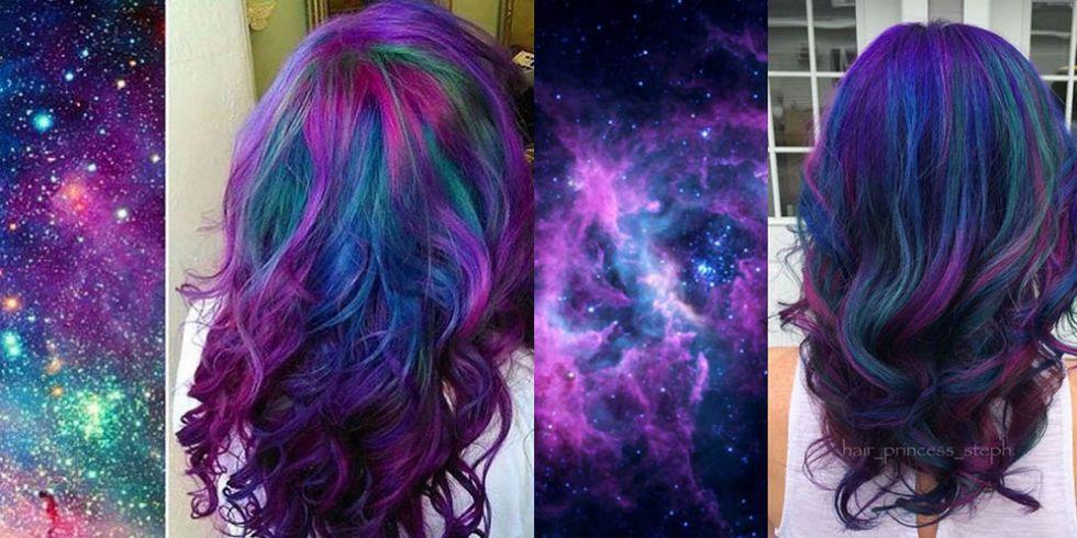 galaxy hair incredible