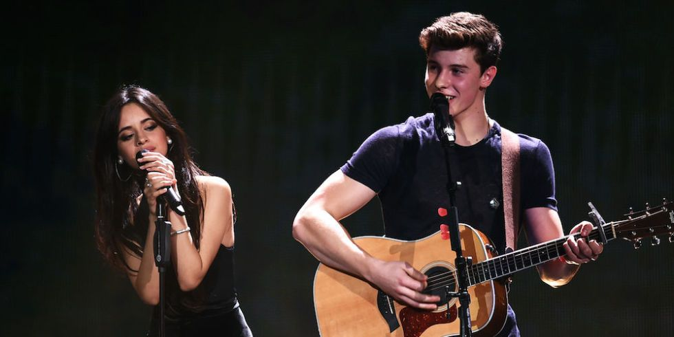 Watch Shawn Mendes and Camila Cabello Almost Kiss While